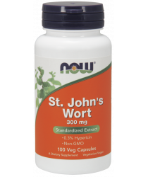 St. John's Wort 100 Veg Capsules