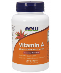 Vitamin A (Fish Liver Oil) Softgels