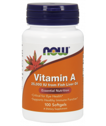 Vitamin A 25,000 IU Softgels