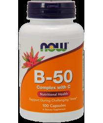 Vitamin B-50 Complex Veg Capsules