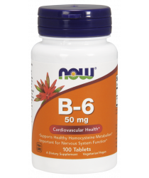 Vitamin B-6 50 mg Tablets