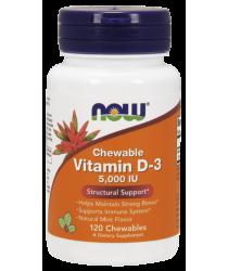 Vitamin D-3 5,000 IU Chewables