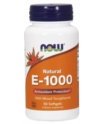 Vitamin E-1000 IU Mixed Tocopherols 100 Softgels