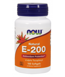 Vitamin E-200 IU d-alpha Softgels