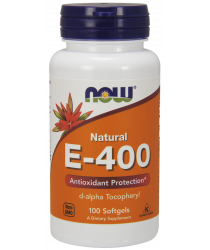 Vitamin E-400 IU D-Alpha Tocopheryl 100 Softgels