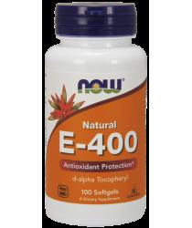 Vitamin E-400 IU D-Alpha Tocopheryl 100 Softgels