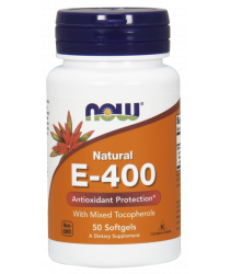 Vitamin E-400 IU MT 50 Softgels