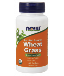 Wheat Grass 500 mg Tablets