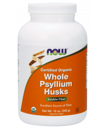Whole Psyllium Husks, Certified Organic