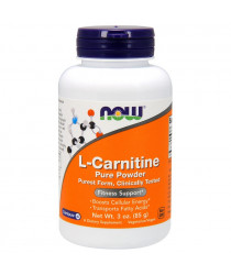 L-Carnitine, Pure Powder, 3 oz (85 g)