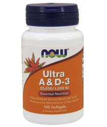 Ultra A & D3 25,000/1,000 IU Softgels