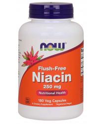 Flush-Free Niacin 250 mg 180 Veg Capsules