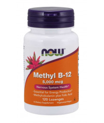 Methyl B-12 5,000 mcg 120 Lozenges