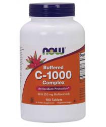 Vitamin C-1000 Complex, Buffered 180 Tablets