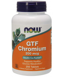 GTF Chromium 200 mcg 250 Tablets