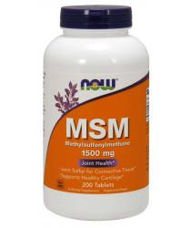 MSM 1500 mg 200 Tablets
