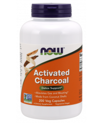 Activated Charcoal Veg Capsules