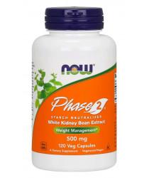 Phase 2® 500 mg 120 Veg Capsules