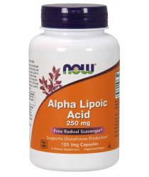 Alpha Lipoic Acid 250 mg 120 Veg Capsules