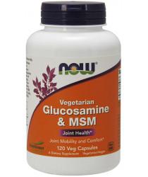Glucosamine & MSM, Vegetarian 120 Veg Capsules