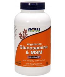 Glucosamine & MSM, Vegetarian 240 Veg Capsules