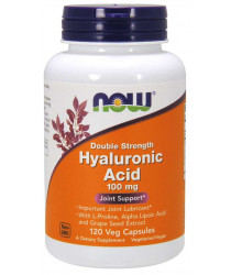 Hyaluronic Acid 100mg 120 Veg Capsules