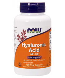 Hyaluronic Acid with MSM 120 Veg Capsules