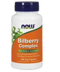 Bilberry Complex 80 mg 100  Veg Capsules
