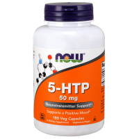 5 HTP 50 mg 180 Caps - Now foods