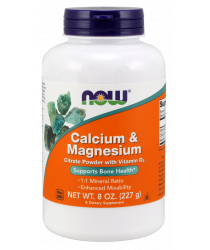 Calcium & Magnesium Powder - 8 oz