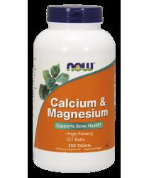 Calcium & Magnesium 250 Tablets