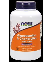 Glucosamine & Chondroitin with MSM 180 Capsules