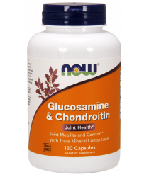 Glucosamine & Chondroitin with Trace Minerals 120 Capsules
