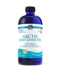 Nordic Naturals® Arctic Cod Liver Oil Liquid - Orange Flavor 16 oz