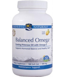 Nordic Naturals® Balanced Omega™ Combination - Gel Capsules 180ct