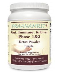 Gut Immune Liver Phase 1&2 Detox Powder - Vanilla Delight