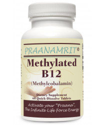 Methylated B12 (Methylcobalamin) - 60 Tabs