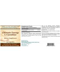 Ultimate Energy L-Carnitine - 90 Veg Caps