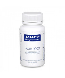 Folate 1000 - 90 Caps-  Pure Encapsulations
