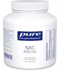 NAC (n-acetyl-l-cysteine) 600 mg 360 capsules