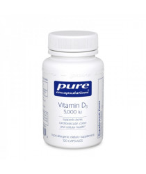 Vitamin D3 5,000 IU 120 capsules