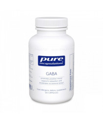 GABA- 120 Caps- Pure Encapsulation