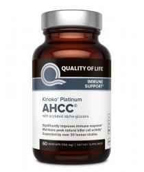 AHCC® - Kinoko Platinum- 60 Veg Caps