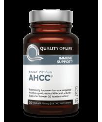 AHCC® - Kinoko Platinum- 30 Veg Caps