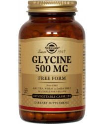Glycine 500 mg Vegetable Capsules