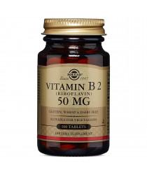Vitamin B2 (Riboflavin) 50 mg