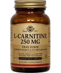 L-Carnitine 250 mg Vegetable Capsules