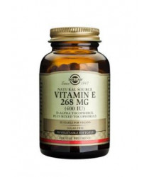 Vitamin E 268 mg (400 IU) Vegetable Softgels