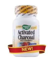 Charcoal 260 mg Capsules - (Activated) 100 ct