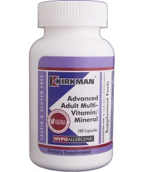 Advanced Adult Multi-Vitamin/Mineral Capsules - Hypo 180 ct